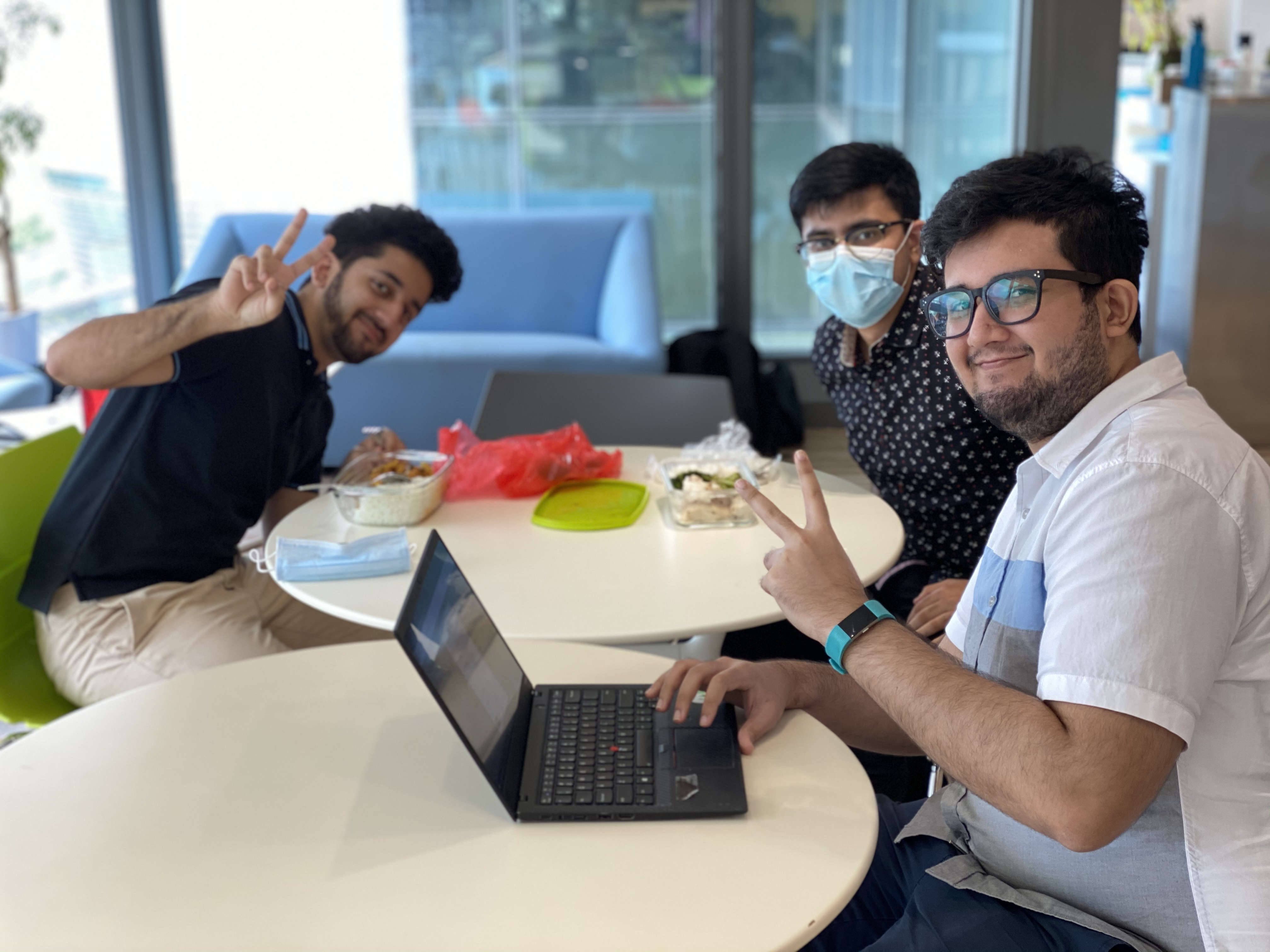 FutureNow hired three interns - all from HKUST