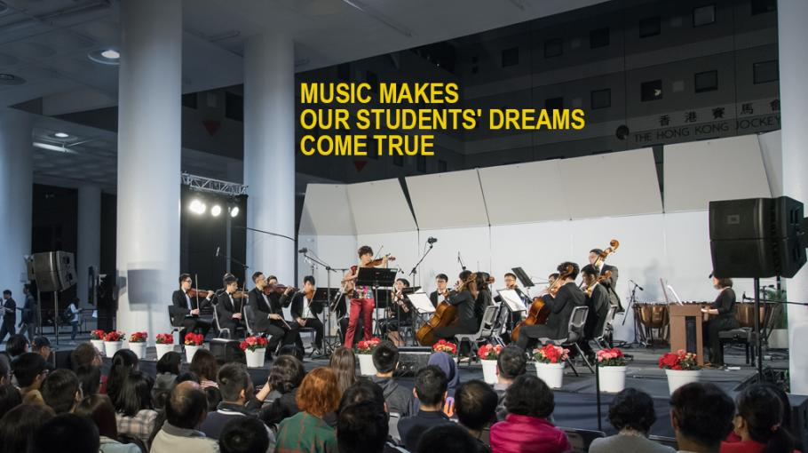 Music Makes Our Students' Dreams Come True